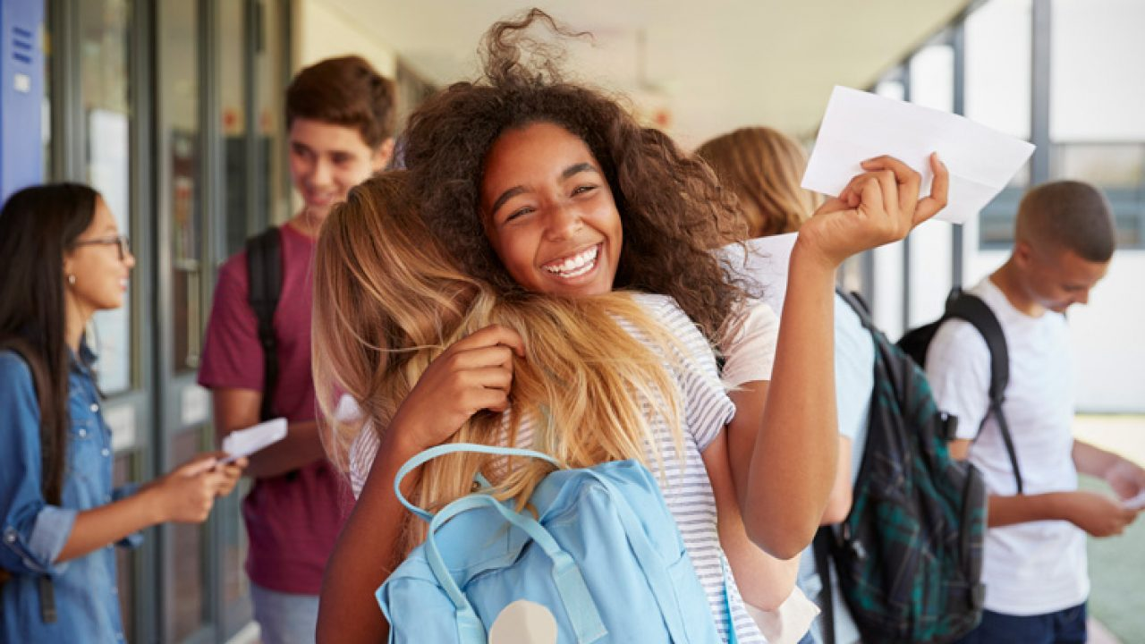 Alix Bromley Pics gcse results day 2018: students succeed against the odds