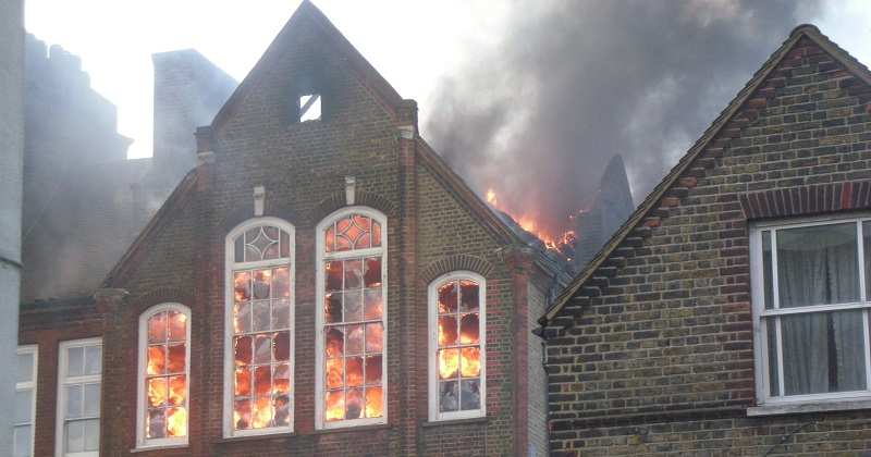 Fire brigade renews calls for mandatory sprinklers as London school fires increase by a third
