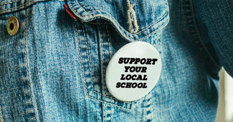 How can universities best support their local schools?