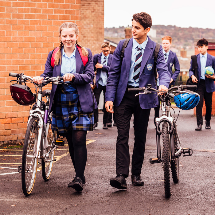 The school giving pupils stolen bikes