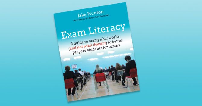 Exam literacy: A guide to doing what works (and not what doesn't) to better prepare students for exams