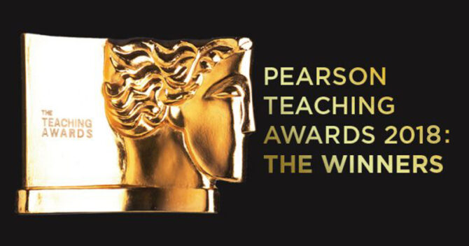Revealed: The winners of the 2018 Pearson Teaching Awards