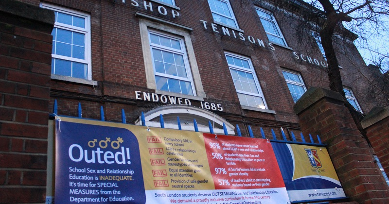 Schools targeted with fake Ofsted banners over 'inadequate' LGBT sex and relationships education