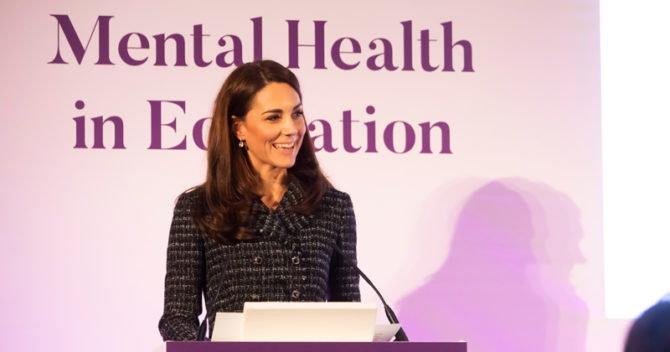 Duchess of Cambridge: teachers need more mental health support