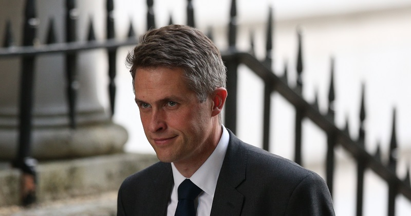 Gavin Williamson appointed as education secretary