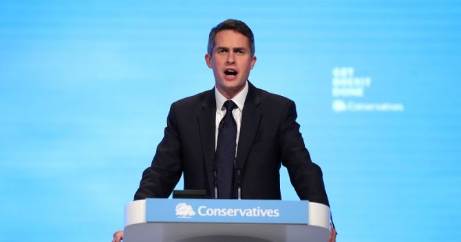 Gavin Williamson's conference speech: The full text