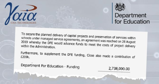 Revealed: DfE in £3m bailout of government-approved ICT supplier