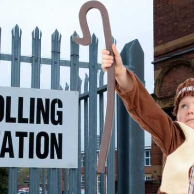 Use of schools as polling stations falls 10%