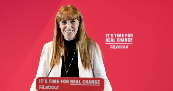 Angela Rayner to run for Labour deputy leadership