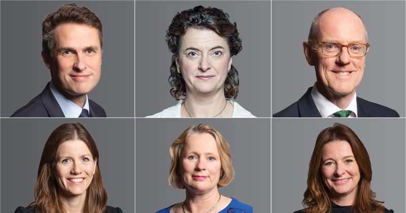 Who's who? Your guide to the new ministerial line-up at the DfE