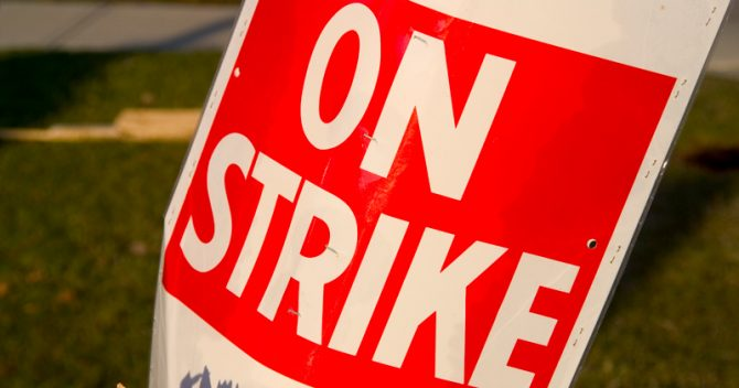 NEU strike teacher pay