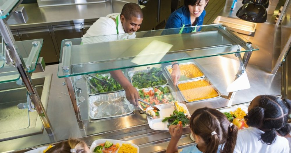 Brexit and Covid are causing driver shortages that threaten food supplies for school meals, one council has warned.