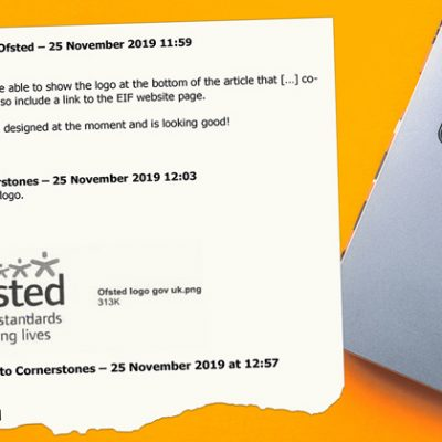Emails reveal Ofsted permitted use of its logo by private company