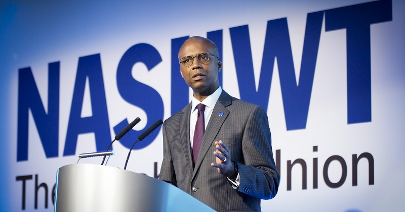 Patrick Roach takes over at NASUWT with a plea to ministers