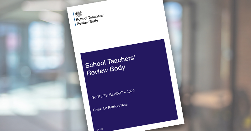 STRB warning over experienced teacher pay, plus 5 more findings from its 2020 report