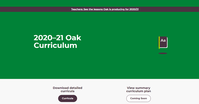 Primary art and D&T 'missing' from Oak's initial 2020-21 lesson plans