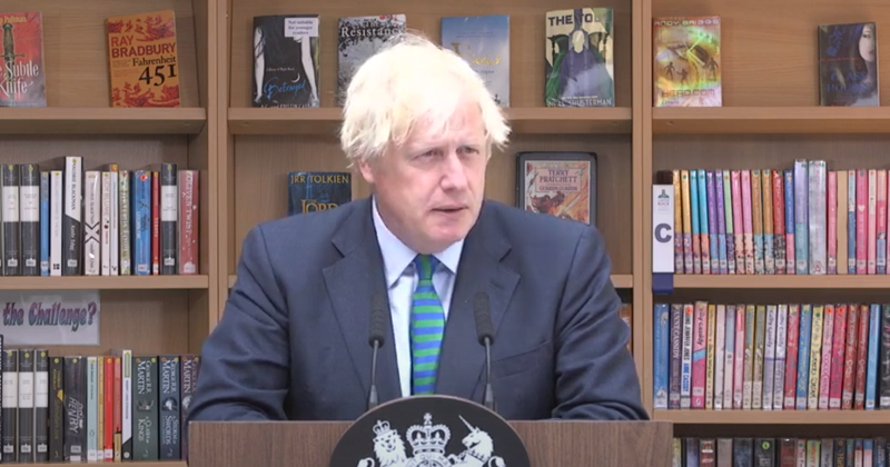 Boris Johnson claims exams fiasco has been 'sorted out'