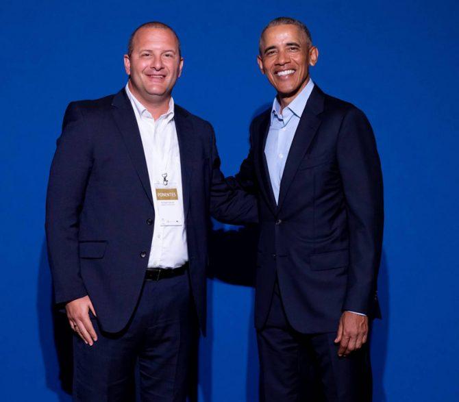 Gerver with Obama