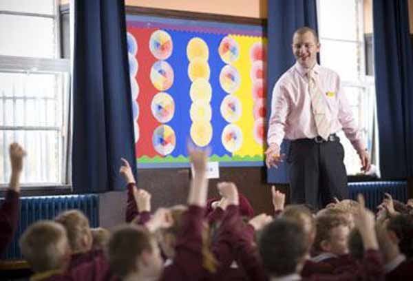 Gerver at The Grange Primary School wherethe library was the 'beating heart'