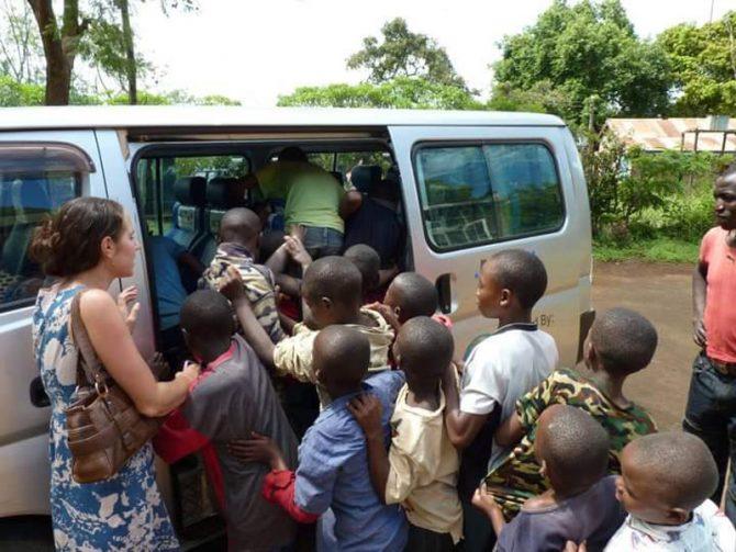Harrison in Kenya