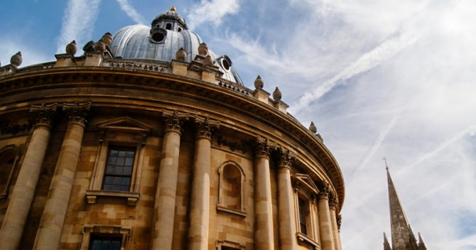 Oxbridge admissions