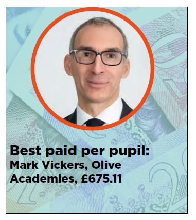 academy trust CEO pay